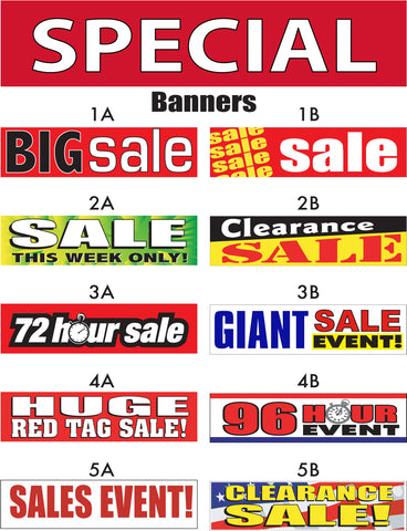 Sale Banner Special