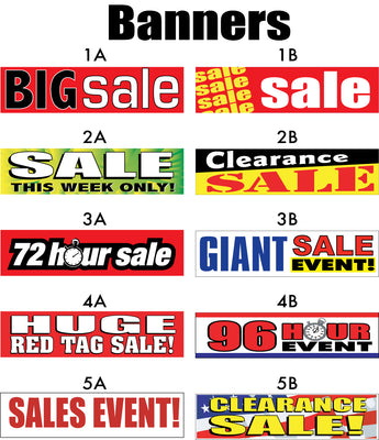 Big Sale, Giant Sale, Sales Event