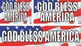 God Bless America Signs and Banners