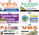 Church Vacation Bible School Banners