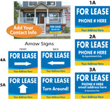 For Lease Custom Signs