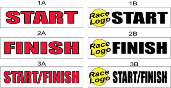 Start Banners, Finish Banners for Races, as low as $69.00