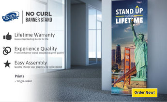 Banner Stand with Graphic