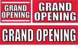 Grand Opening Banners and Signs
