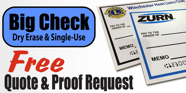 Big Check-Quote-Proof Request