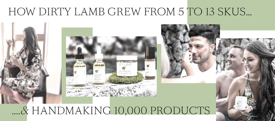 How Dirty Lamb Grew From 5 to 13 SKUs & Handmaking 10,000 Products