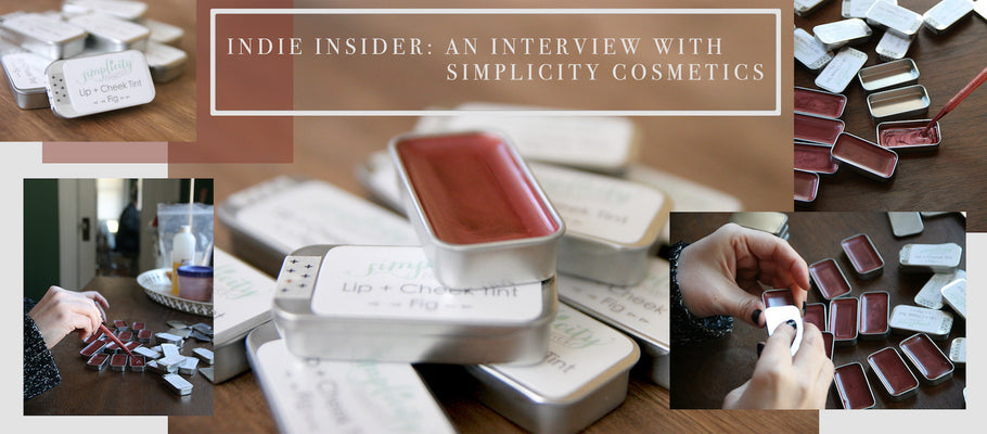 Indie Insider : An Interview With Simplicity Cosmetics