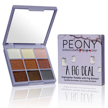 A Fig Deal - Highlighter & Eyeshadow Palette with Fig Extract - Nourish Beauty Box