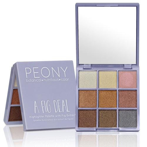 A Fig Deal - Highlighter & Eyeshadow Palette with Fig Extract