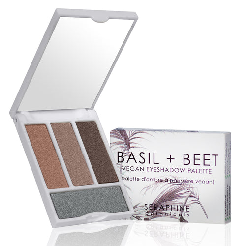 Basil + Beet - Vegan Eyeshadow Palette - Nourish Beauty Box
