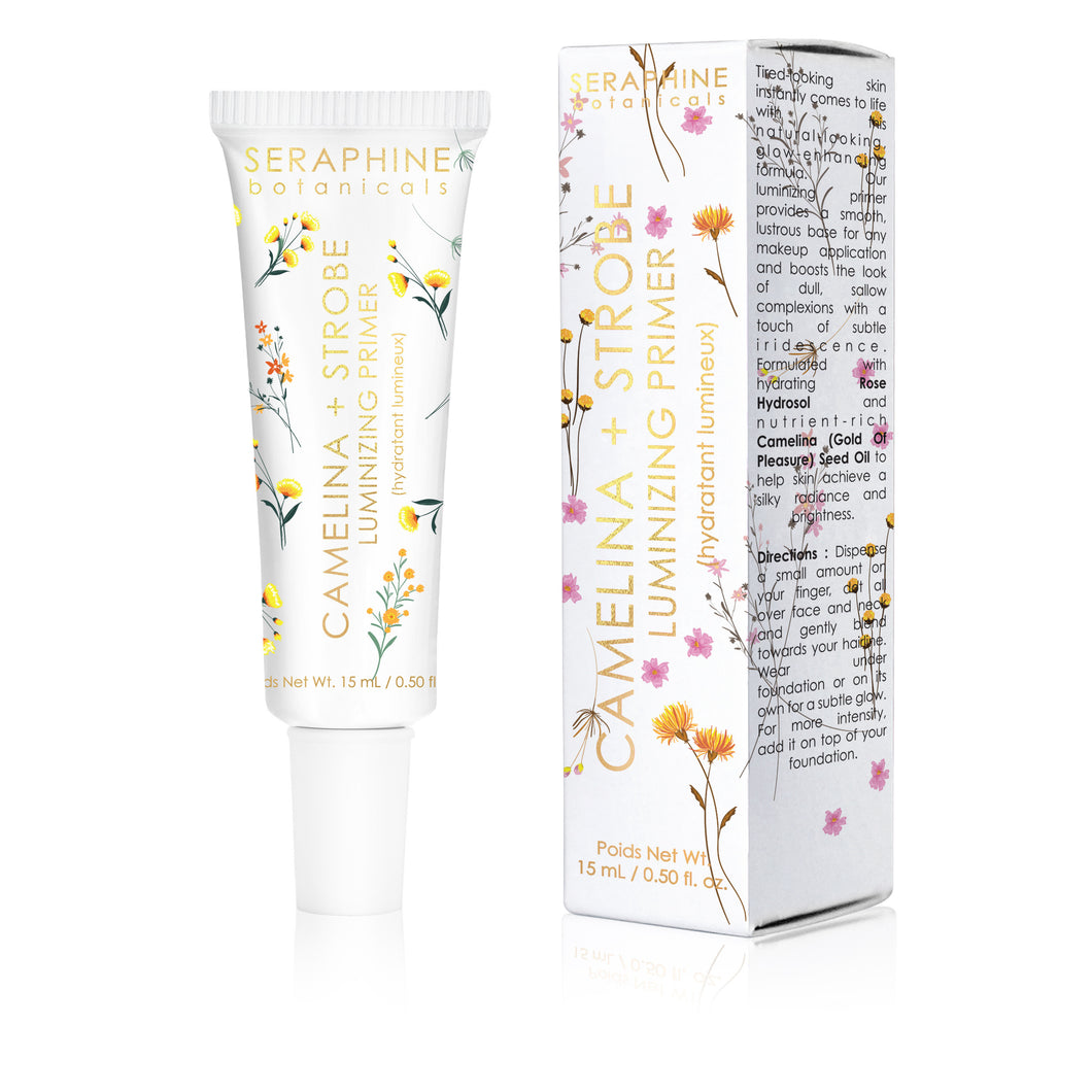Camelina + Strobe - Luminizing Primer - Nourish Beauty Box