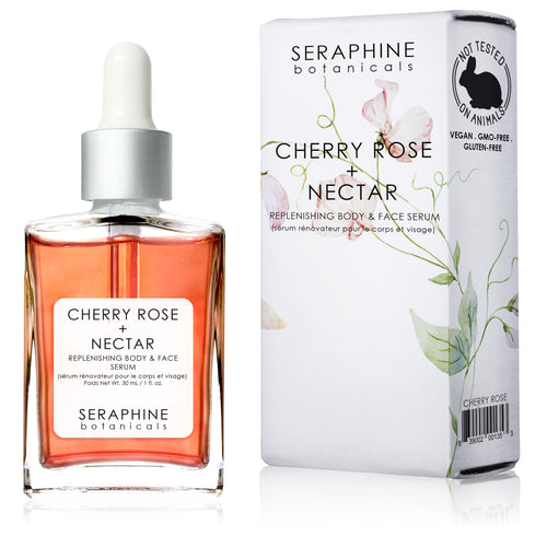 Cherry Rose + Nectar - Replenishing Body & Face Serum - Nourish Beauty Box