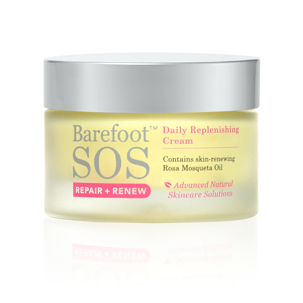 Daily Replenishing Cream by Barefoot SOS - Nourish Beauty Box