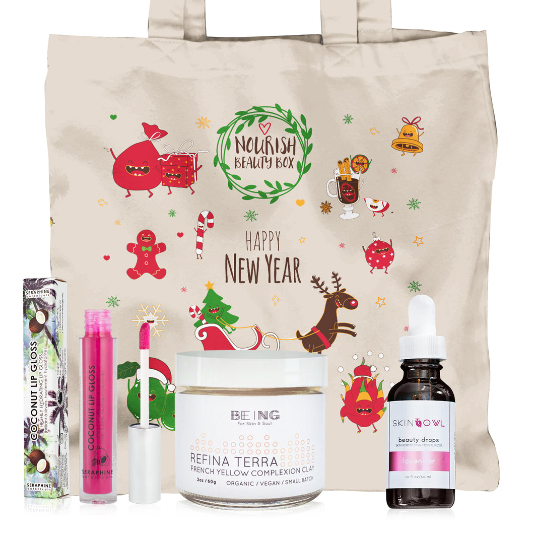 December 2016 Box - Nourish Beauty Box
