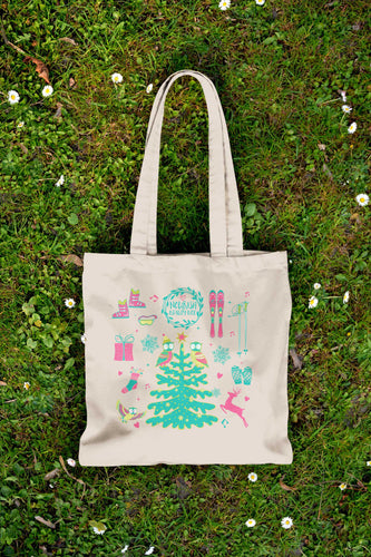 Eco-Friendly Canvas Tote - Dec 2015 - Nourish Beauty Box