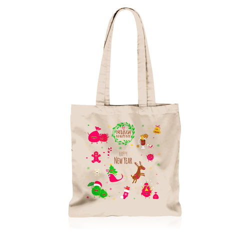 Eco-Friendly Canvas Tote - December 2016 - Nourish Beauty Box