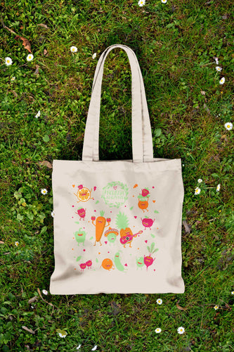 Eco-Friendly Canvas Tote - Jan 2016 - Nourish Beauty Box