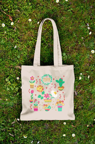 Eco-Friendly Canvas Tote - March 2016 - Nourish Beauty Box