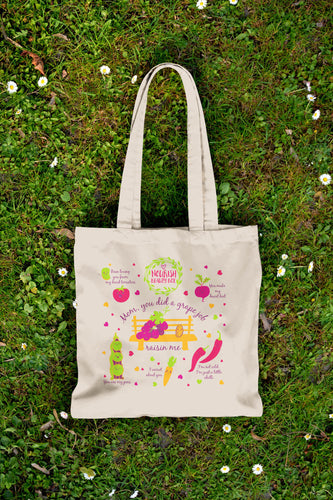 Eco-Friendly Canvas Tote - May 2016 - Nourish Beauty Box