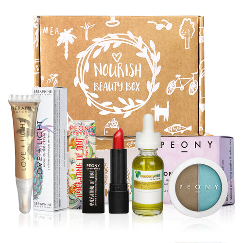 January 2017 Box - Nourish Beauty Box