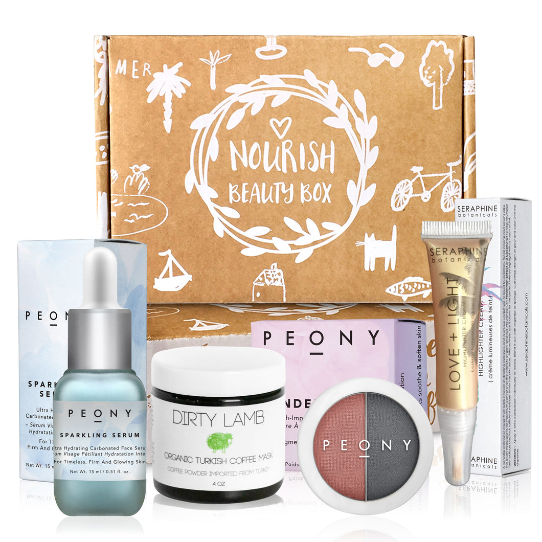 January 2018 box - Nourish Beauty Box