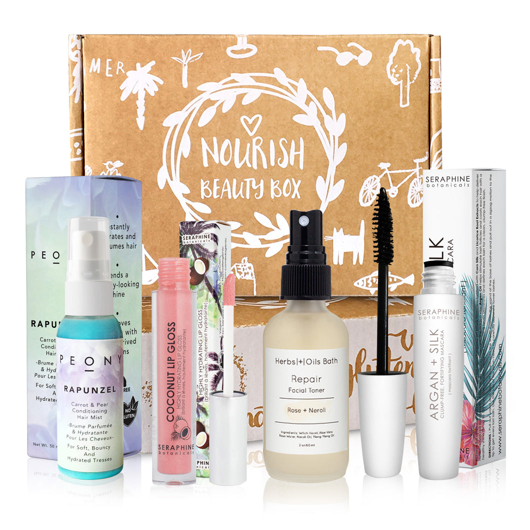 June 2018 box - Nourish Beauty Box