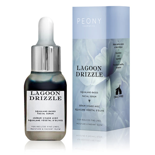 Lagoon Drizzle - Squalane-Based Facial Serum - Nourish Beauty Box