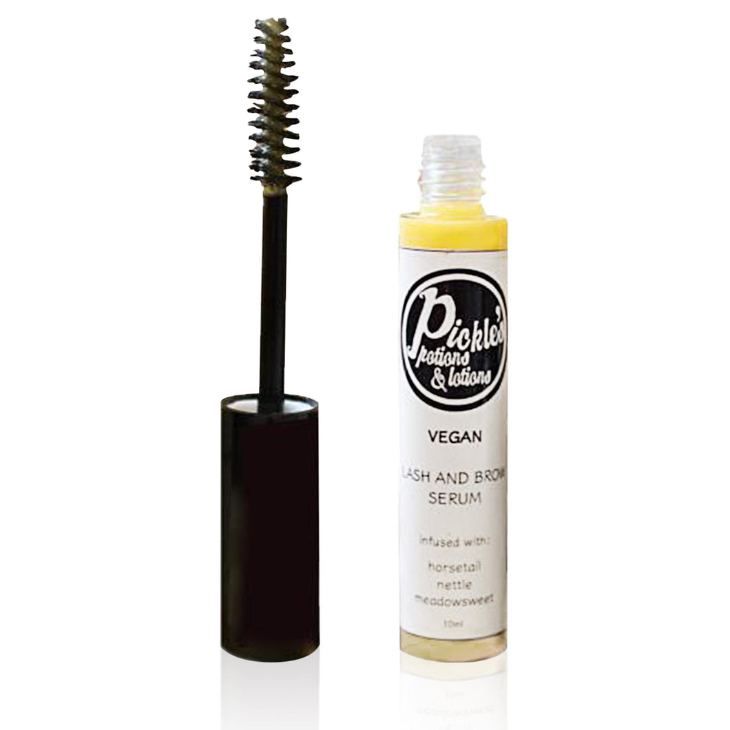 Vegan Lash & Brow Serum by Pickle's Potion - Nourish Beauty Box