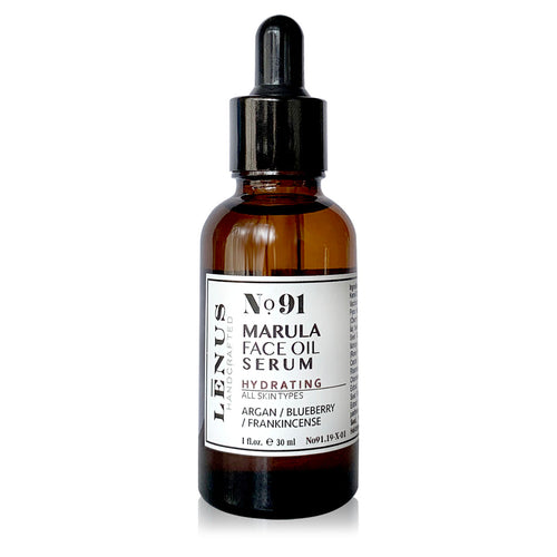 No. 91 Face Oil Serum / Light / Nut-Gluten Free - Nourish Beauty Box