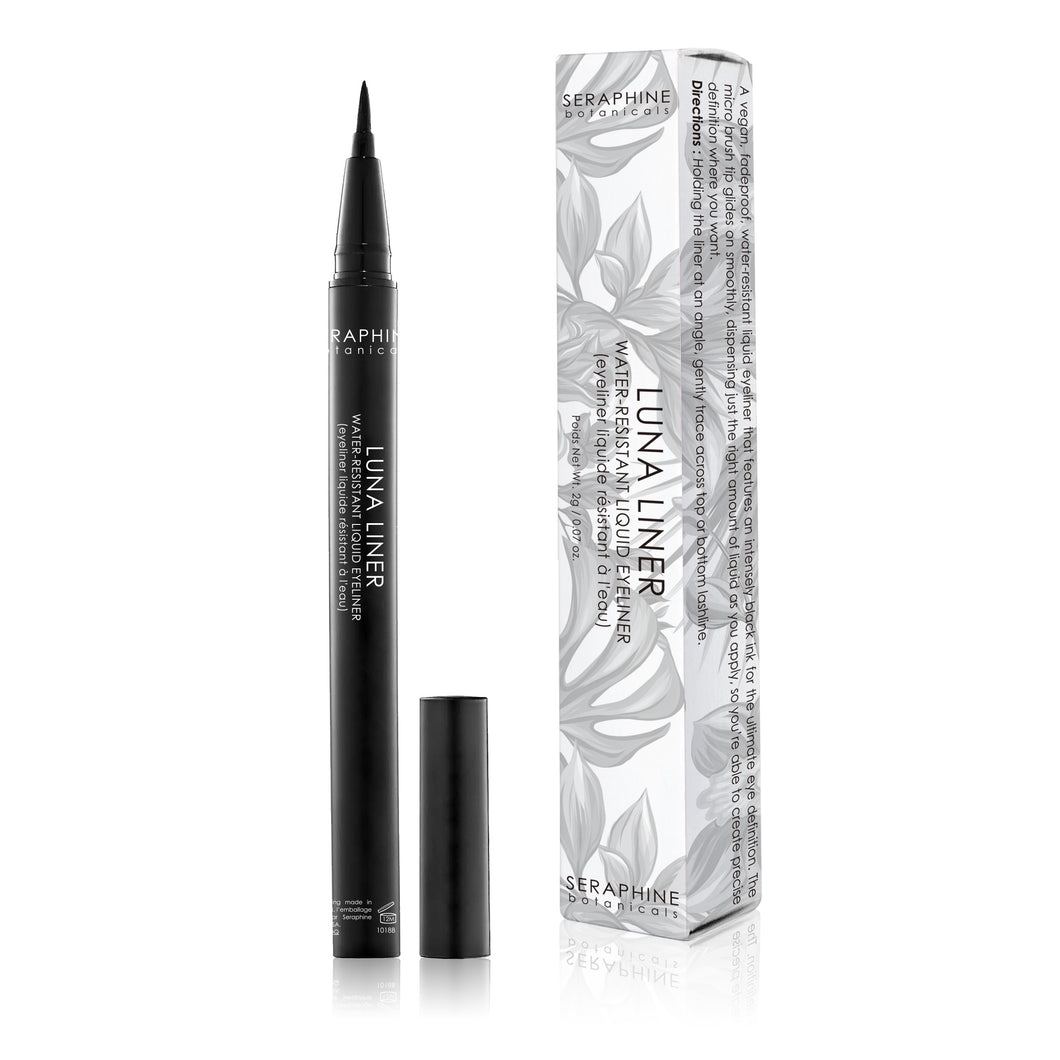 Luna Liner - Water-Resistant Liquid Eyeliner - Nourish Beauty Box
