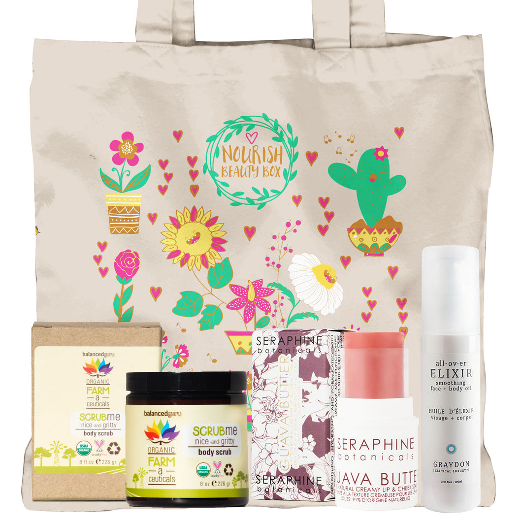 March 2016 Box - Nourish Beauty Box