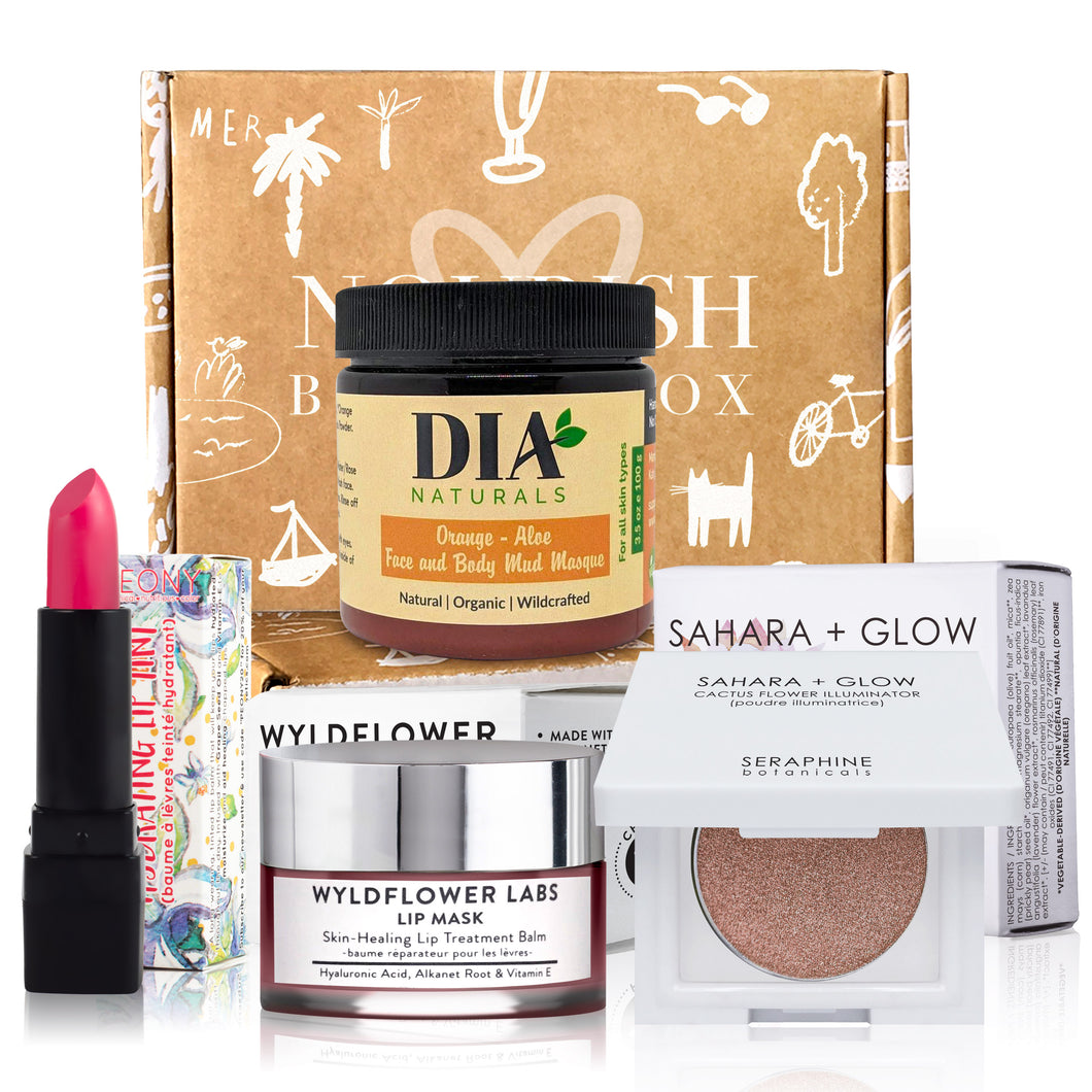 April 2019 box - Nourish Beauty Box