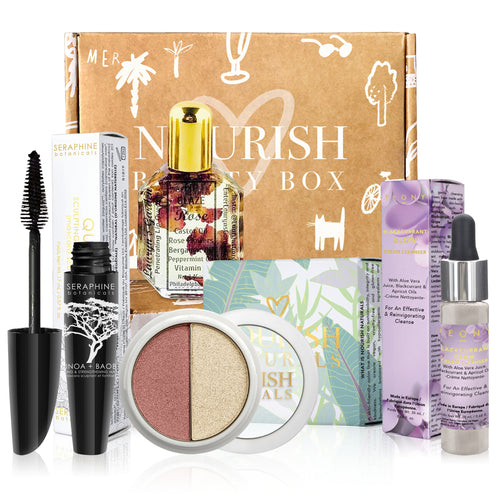 August 2019 box - Nourish Beauty Box
