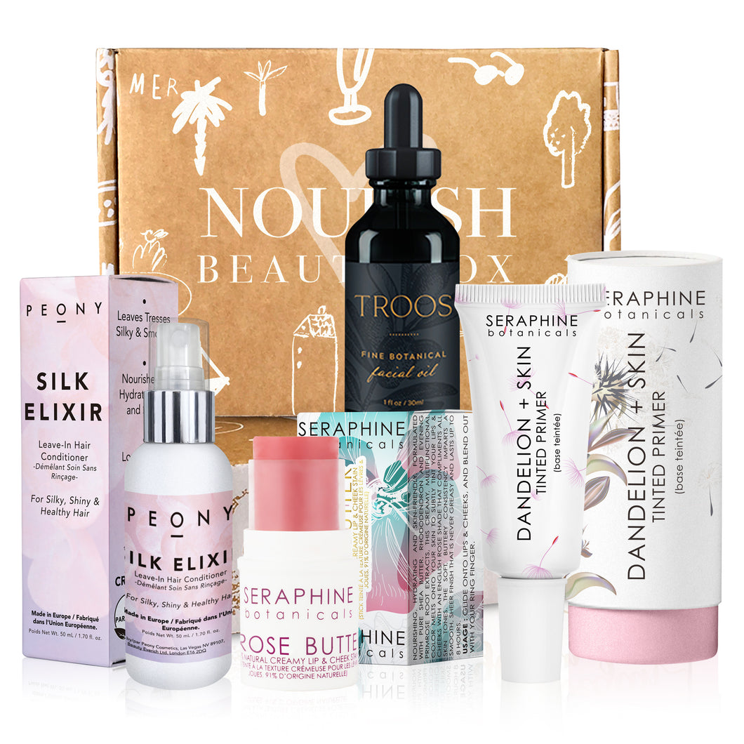 December 2018 box - Nourish Beauty Box