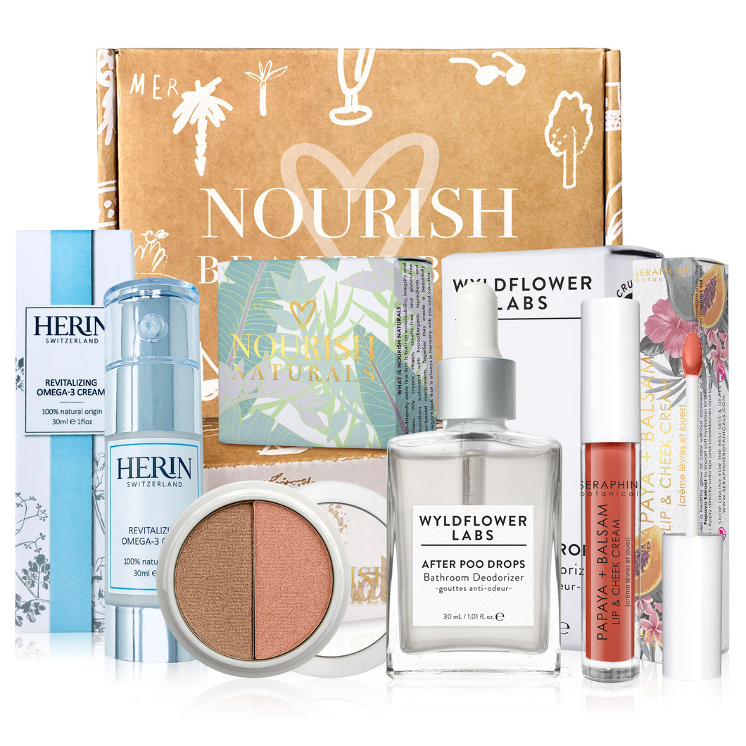 February 2019 box - Nourish Beauty Box