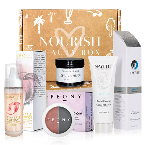 January 2019 box - Nourish Beauty Box