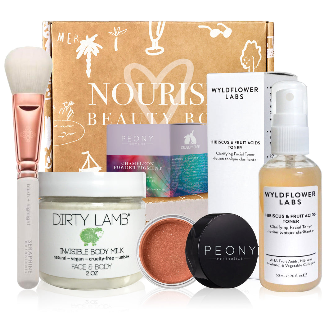 June 2019 box - Nourish Beauty Box