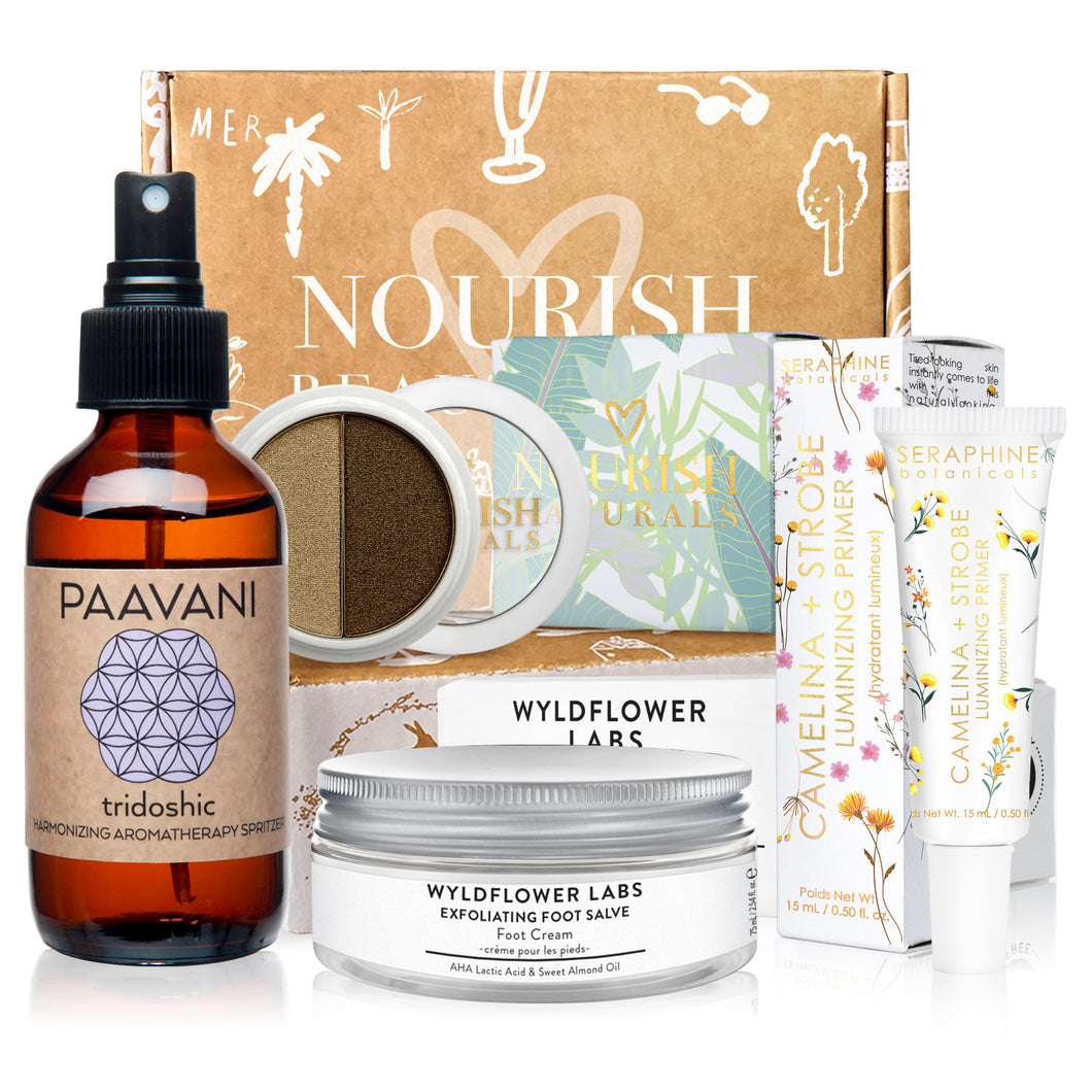 March 2019 box - Nourish Beauty Box