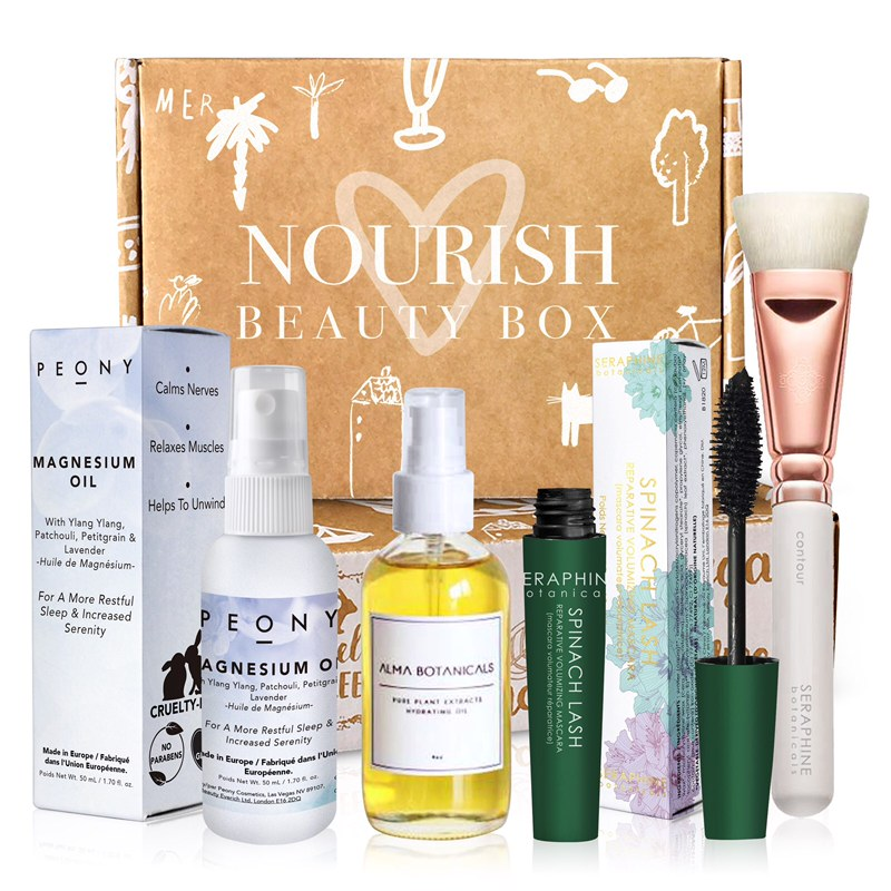 November 2018 box - Nourish Beauty Box