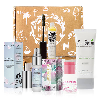 September 2018 box - Nourish Beauty Box