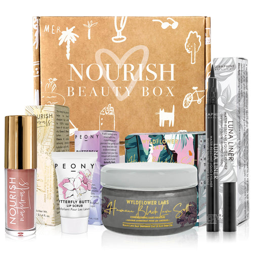 September 2019 box - Nourish Beauty Box