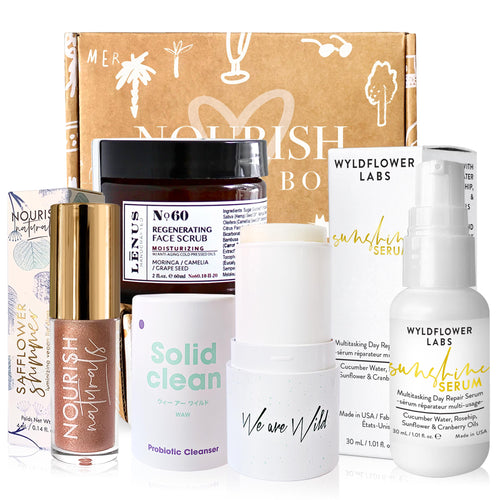 April 2020 box - Nourish Beauty Box