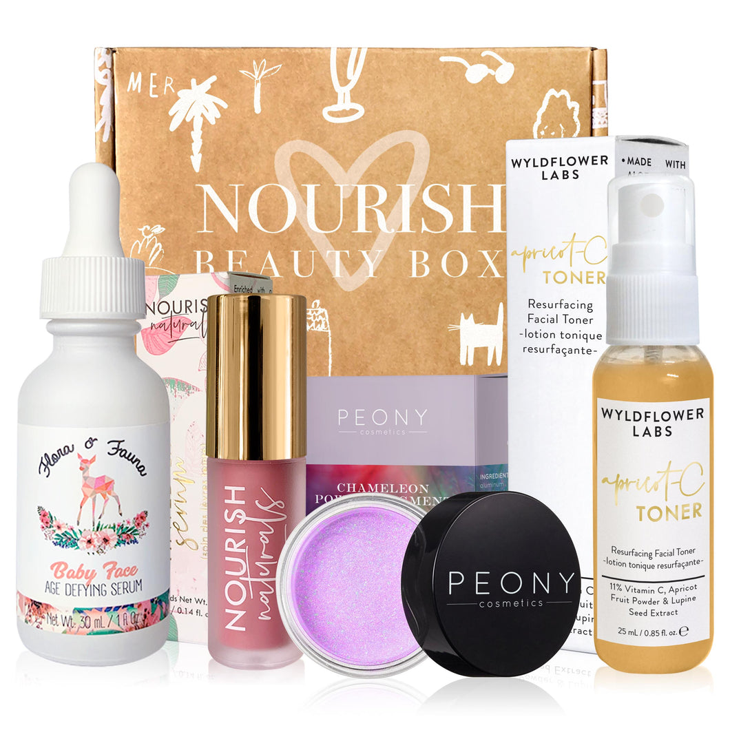 February 2020 box - Nourish Beauty Box