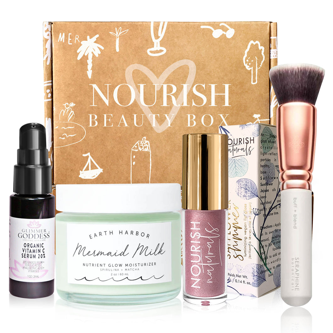 January 2020 box - Nourish Beauty Box
