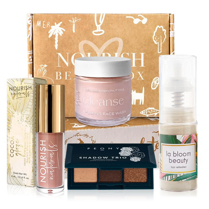 March 2020 box - Nourish Beauty Box
