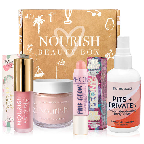 May 2020 box - Nourish Beauty Box