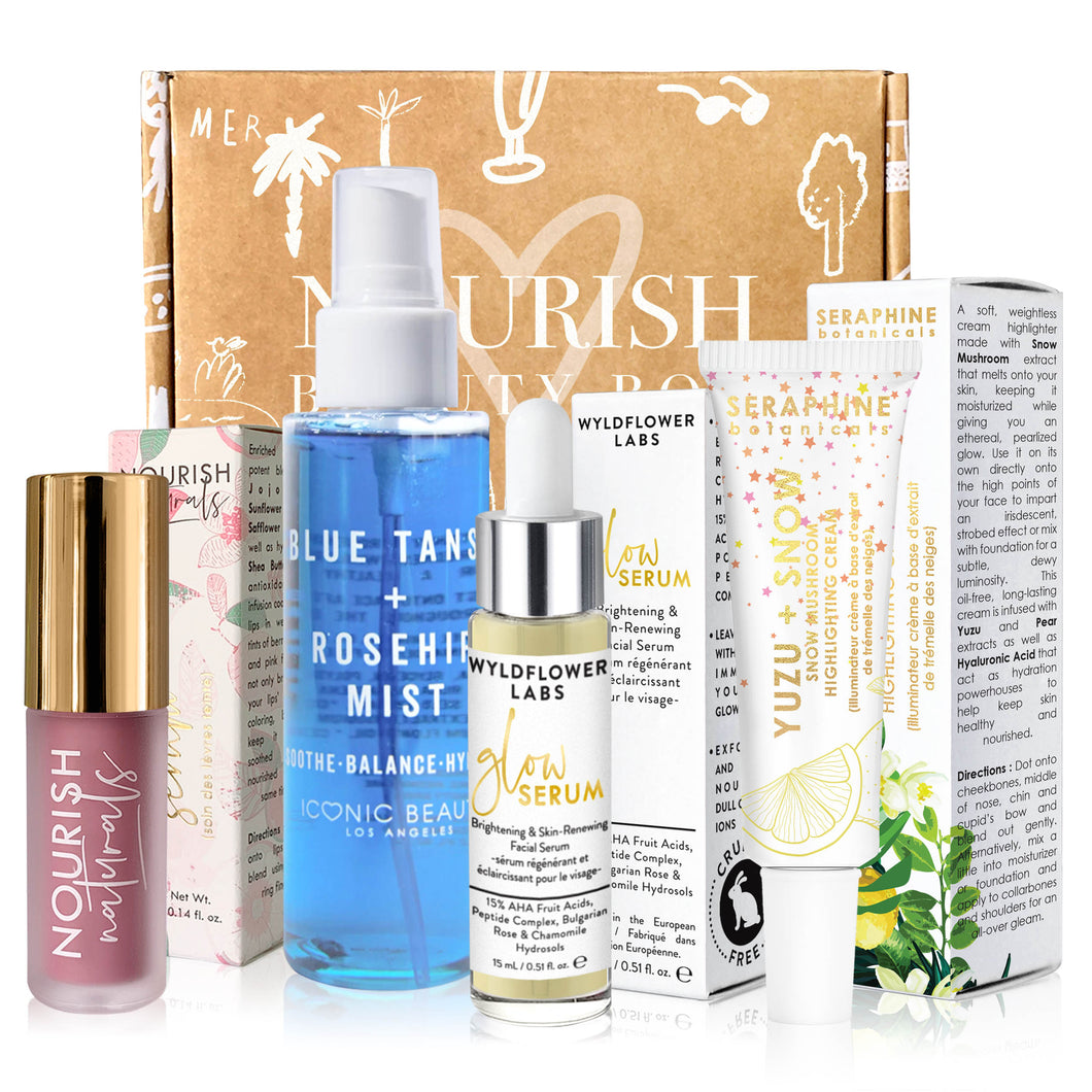 November 2019 box - Nourish Beauty Box