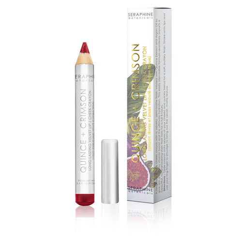 Quince + Crimson - Long-Lasting Velvet Lip / Cheek Crayon