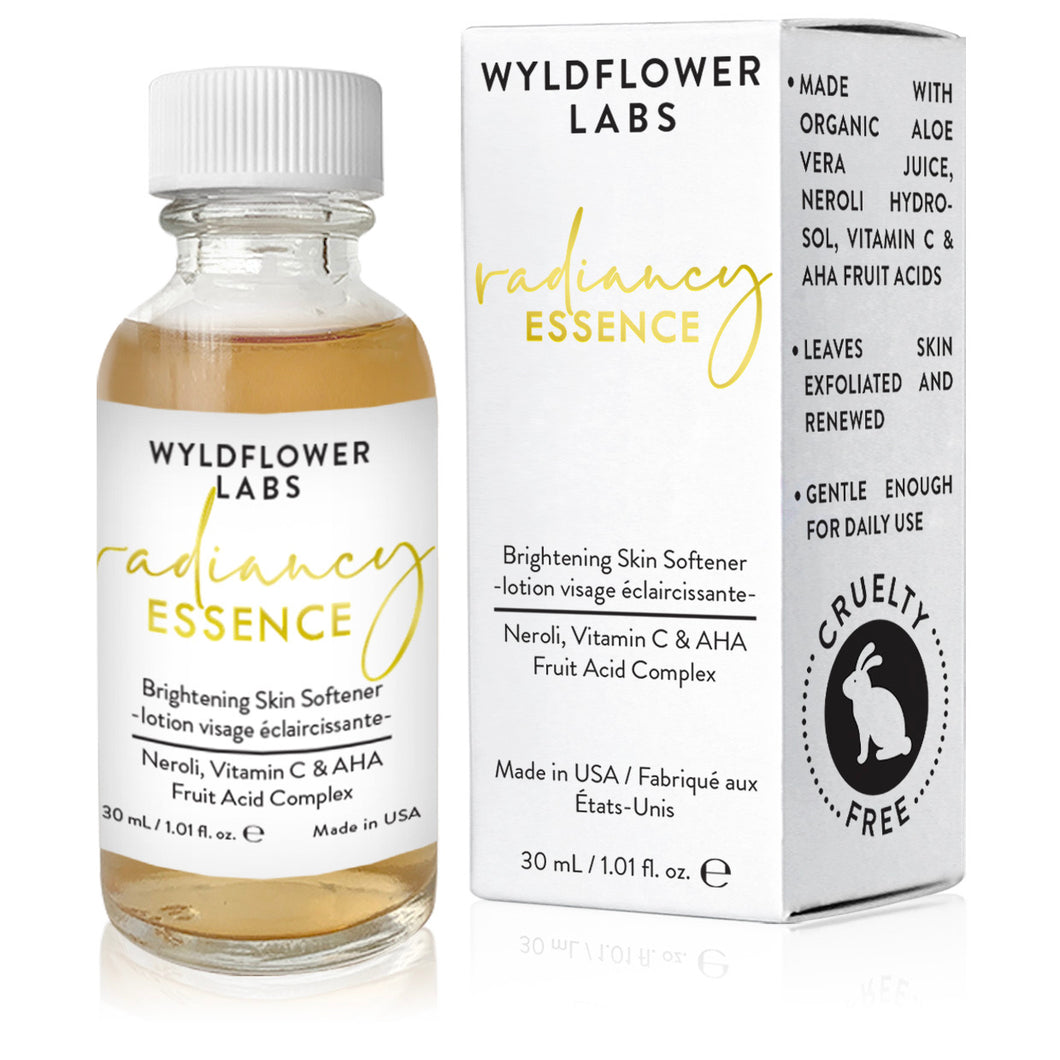 Radiancy Essence - brightening skin softener - Nourish Beauty Box