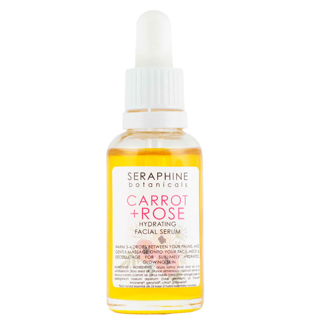 Carrot + Rose (Hydrating Facial Serum)